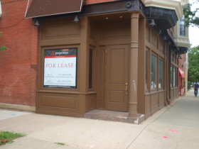 Off Taylor Street, in Chicago's Little Italy, this old-fashioned restaurant is no longer serving patrons.