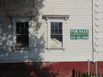 A vacancy in Federal Hill by an Italian American realtor. This was once the heart of Federal Hill's Little Italy