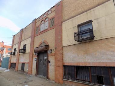 The Saint Francis of Padua school in Williamsburg, Brooklyn stands eerily vacant.