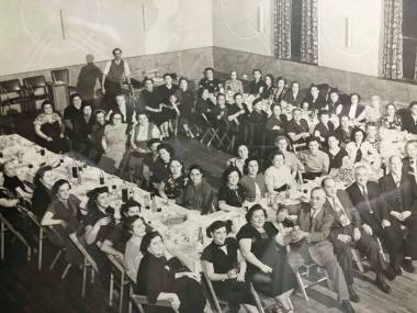 Society Members at the Society Hall Circa 1940