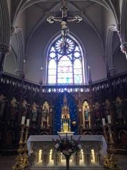 The altar of Sain Patrick's Old Cathedral