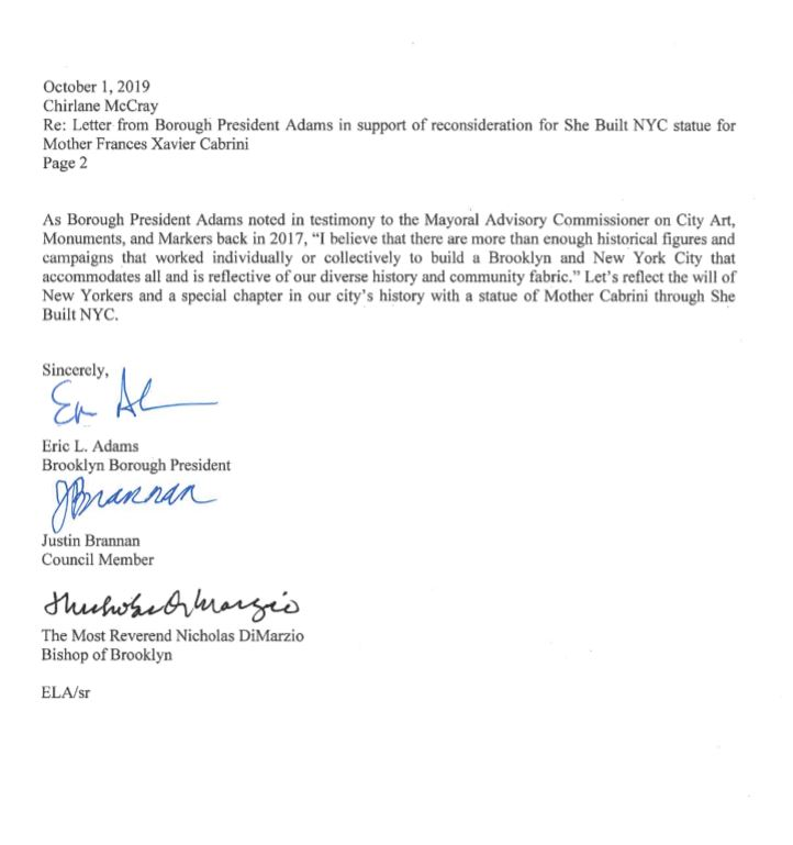 brooklyn borough president letter 2